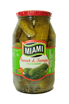 Pickle range - Miami Canners